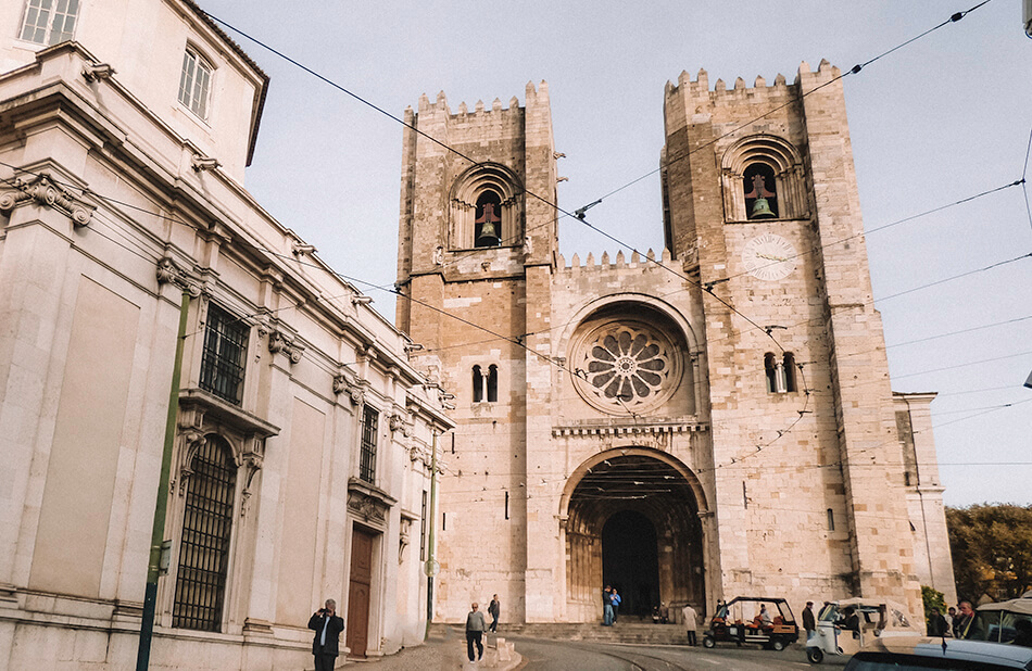 Sé Cathedral in Alfama, Lisbon