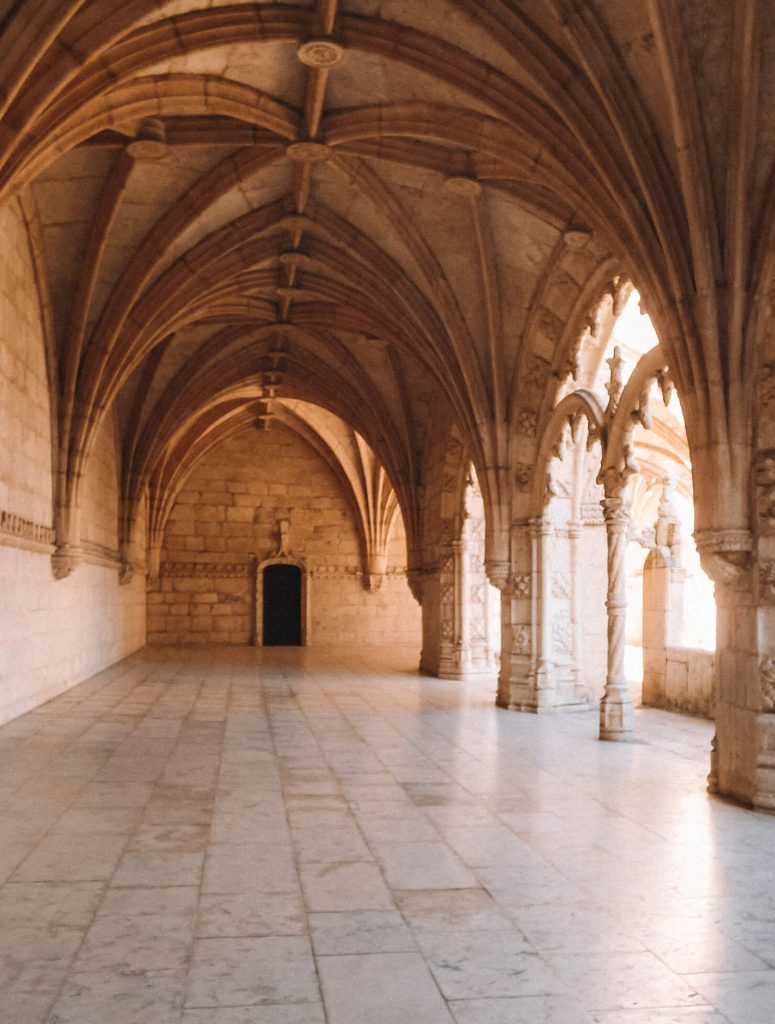 The UNESCO site Monastery of Sao Jeronimo in Bélem, Lisbon