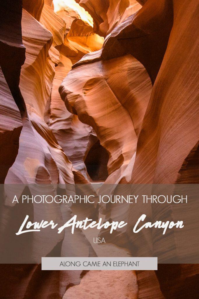 21 photos that will make you want to visit Lower Antelope Canyon in Arizona, USA #travel #USA #antelopecanyon