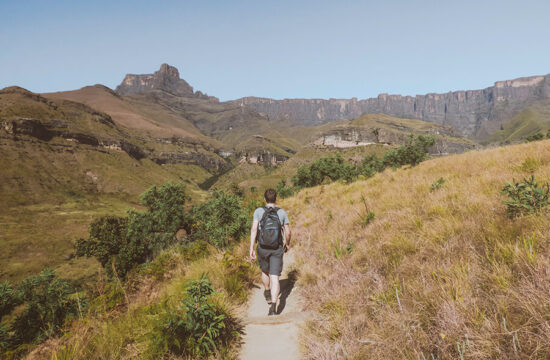 Hiking the Tugela Gorge in South-Africa