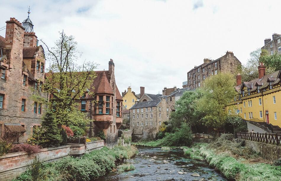 Peace, quiet and a village feel in Edinburgh Dean Village