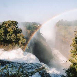 Victoria Falls Zimbabwe and Zambia