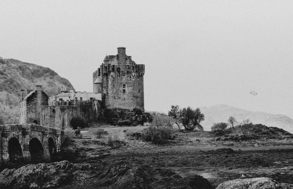 Gorgeous views over Eilean Donan Castle