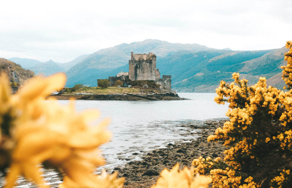 Eilean Donan Castle on the Isle of Skye, Scotland
