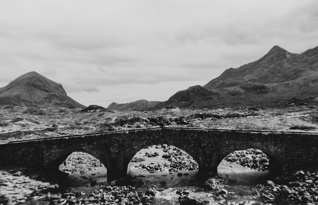 Getting eternal beauty at the Sligachan Bridge