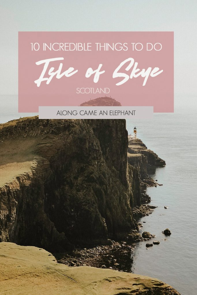 A guide on the 10 most incredible things to do and must-see natural wonders when you're travelling in Scotland and the Isle of Skye. #travel #scotland #isleofskye