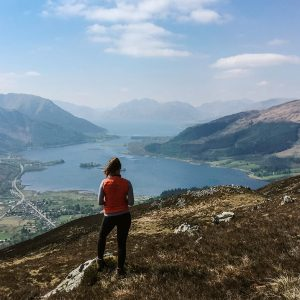 Hiking the Pap of Glencoe in Scotland