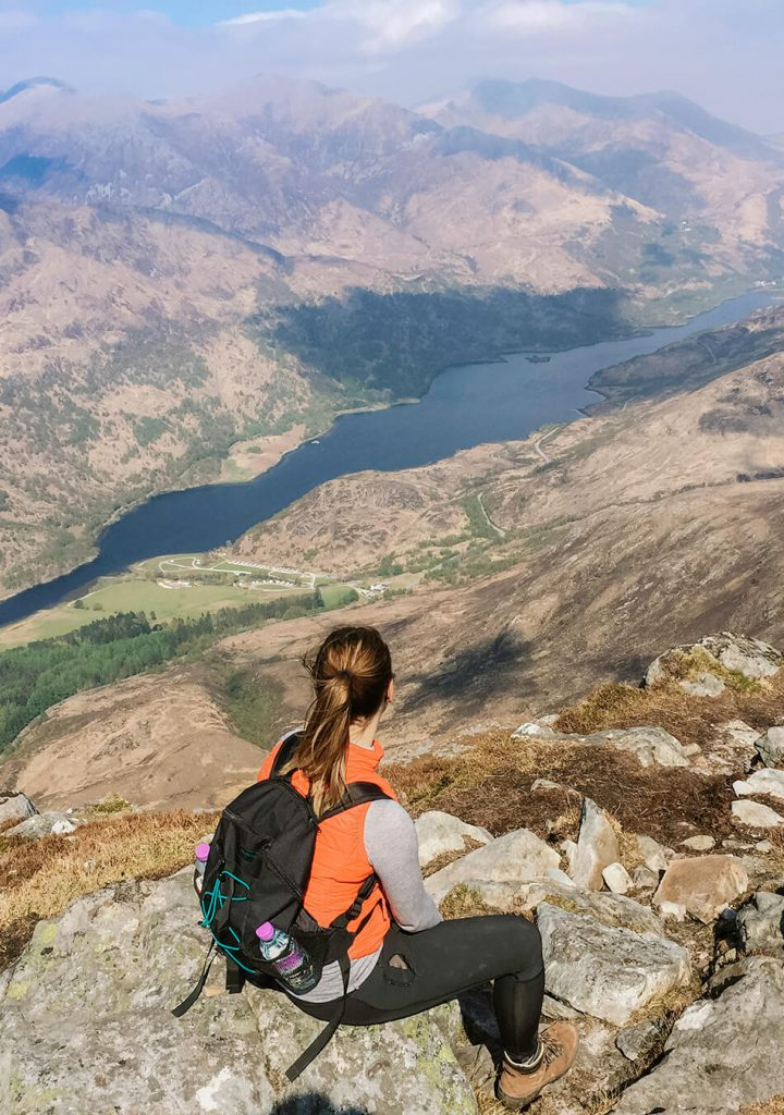 Roadtrip Scotland: View from Pap of Glencoe hike