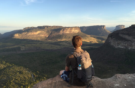 Enjoying the view in Chapada Diamantina National Park, Brazil