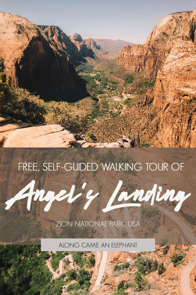 All you need to know for hiking the Angels Landing trail in Zion NP (USA), including a detailed description of the trail and things to know before you go. #angelslanding #travelusa #visitusa #zionnp #zionnationalpark #angelslandingtrail #hiking #visitutah