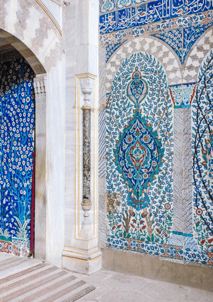 Gorgeous decorations inside the Harem at Topkapi Palace