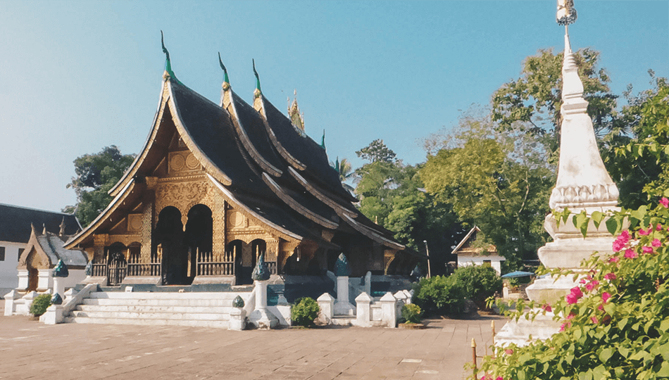 Amazingly beautiful temples in Luang Prabang, Laos