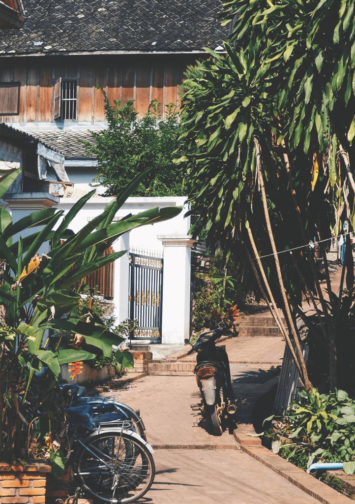 Streets of Luang Prabang, Laos