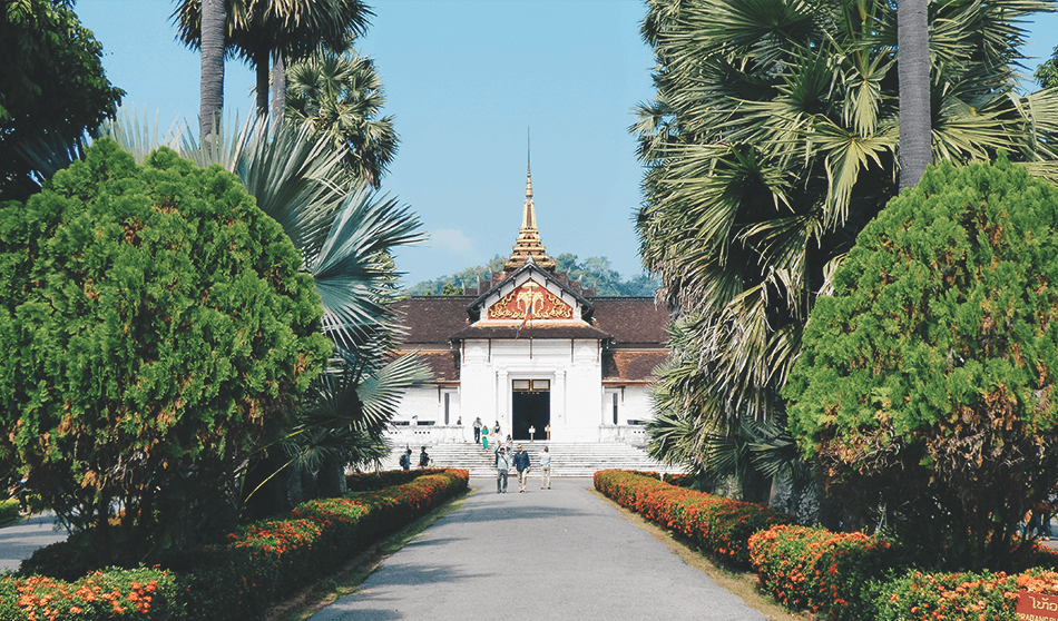 The Royal Palace in Luang Prabang, Laos