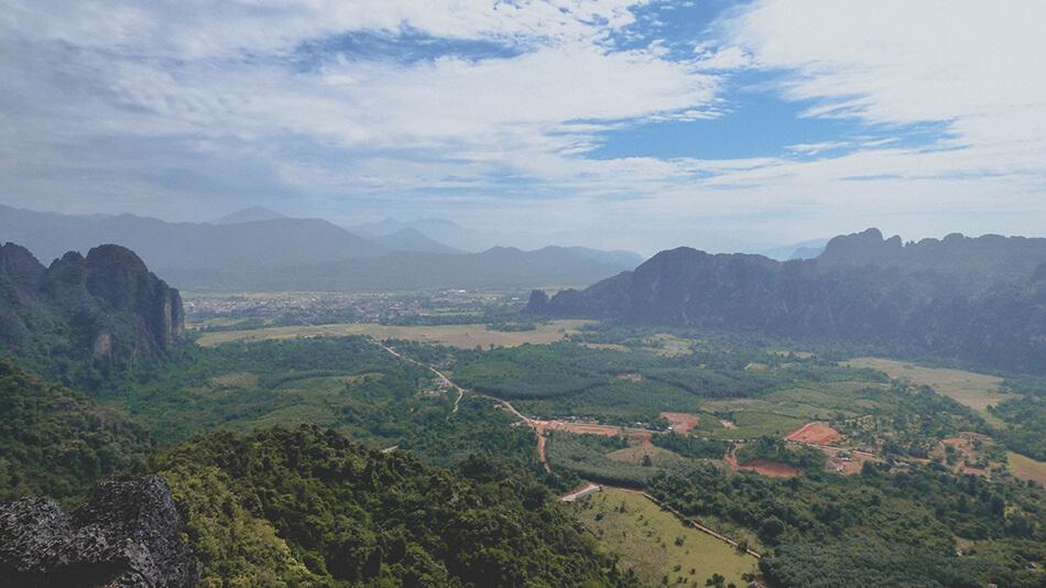 Hike to the Phangern Mountain viewpoint