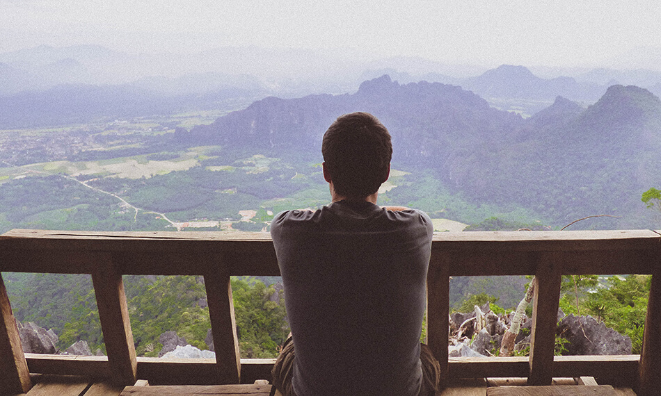 Tips Vang Vieng: Enjoying Phangern Mountain viewpoint at Vang Vieng