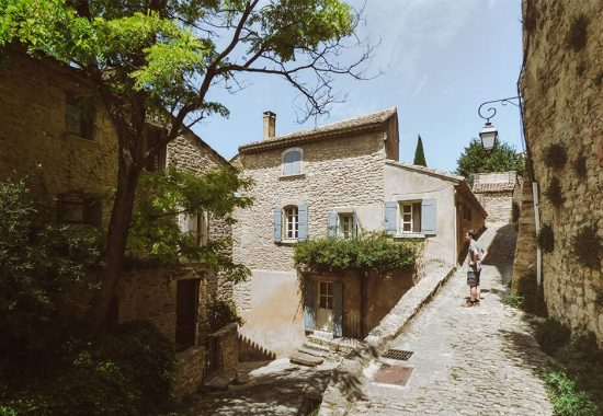 The cute town of Gordes in the Provence, Belgium