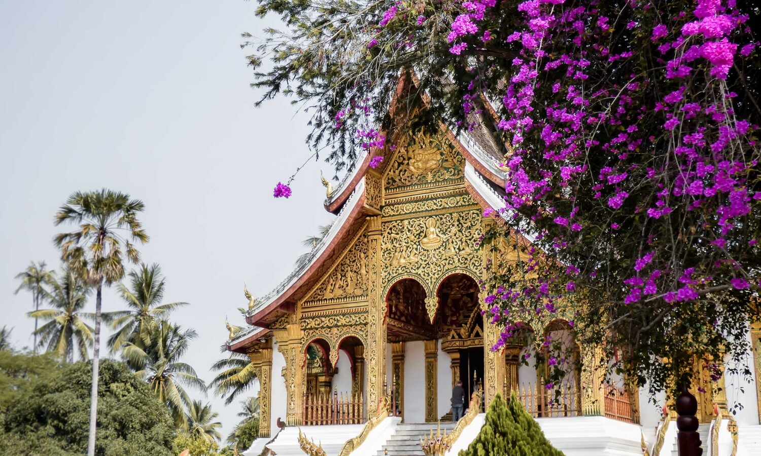 When only one week to spend in Laos, you'll have to include Luang Prabang in your two week Laos itinerary