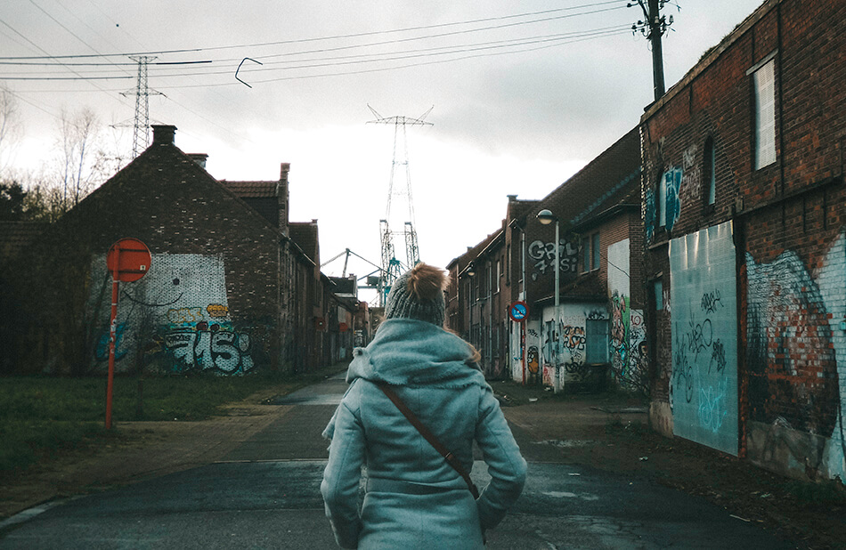 Visit Doel, Belgium's only ghosttown