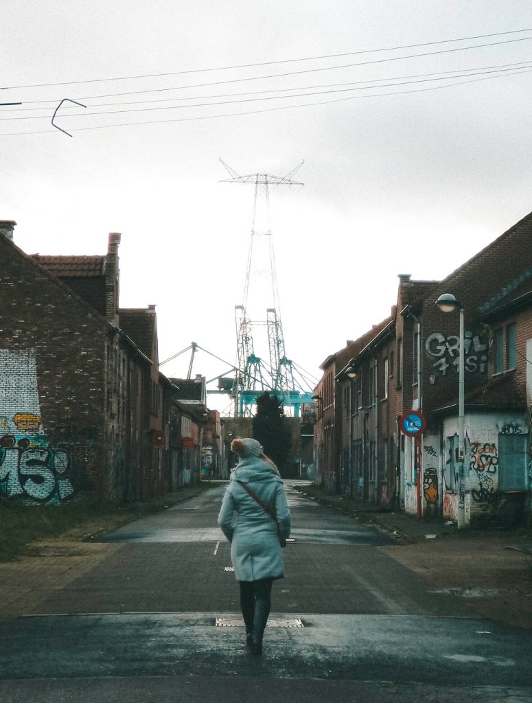 On a day trip to Doel, Belgium's only ghost town