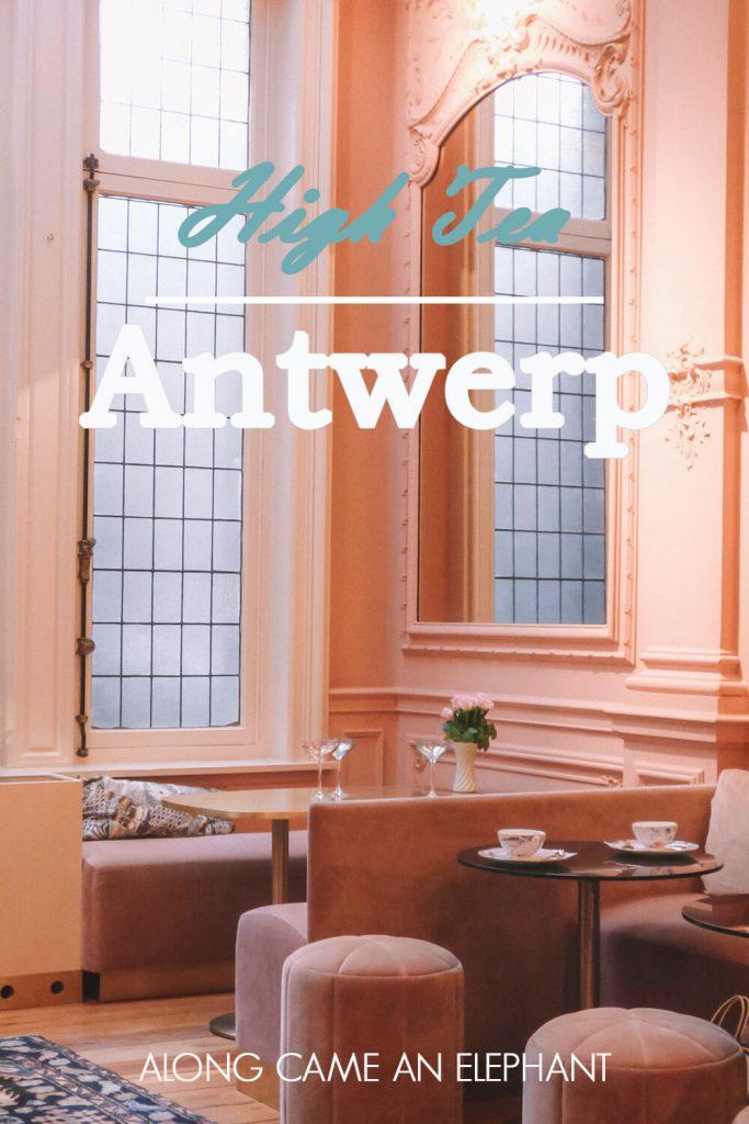 Experiencing high tea at Cuisinette Domestic in Antwerp