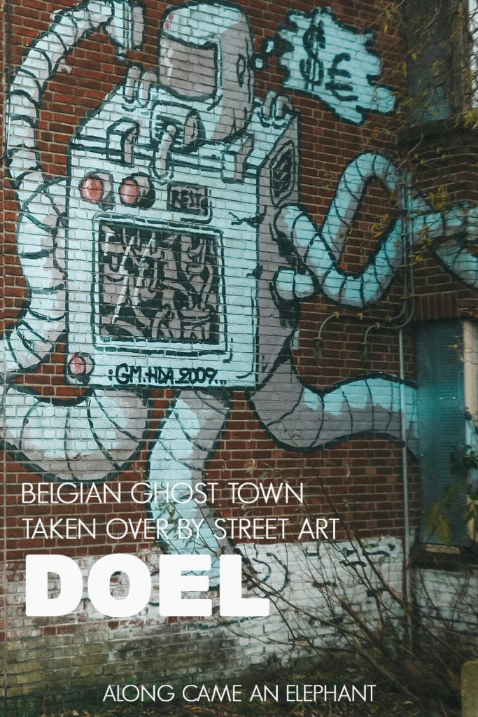 Doel: Belgium's decaying ghost town taken over by street art