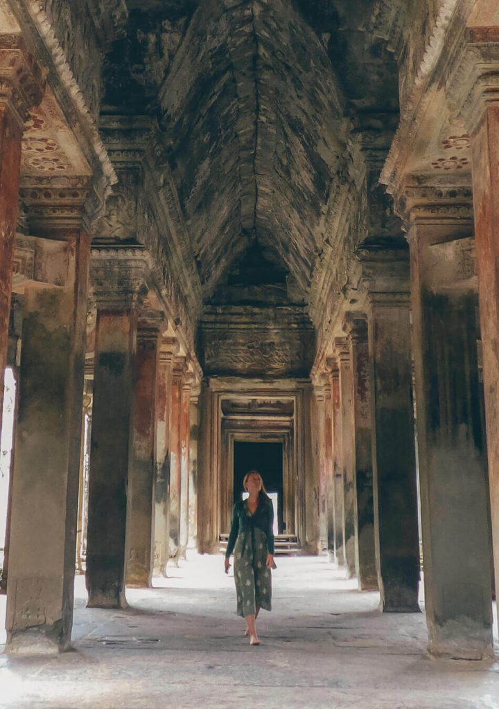Inside the heart of Angkor Wat