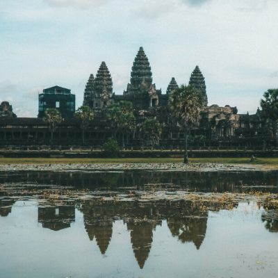 The majestic Angkor Wat temple in Cambodia