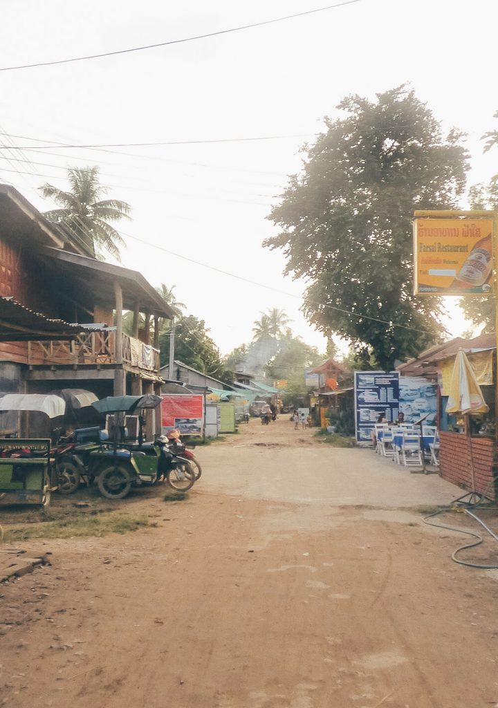 Local shops selling the same bus to Siem Reap