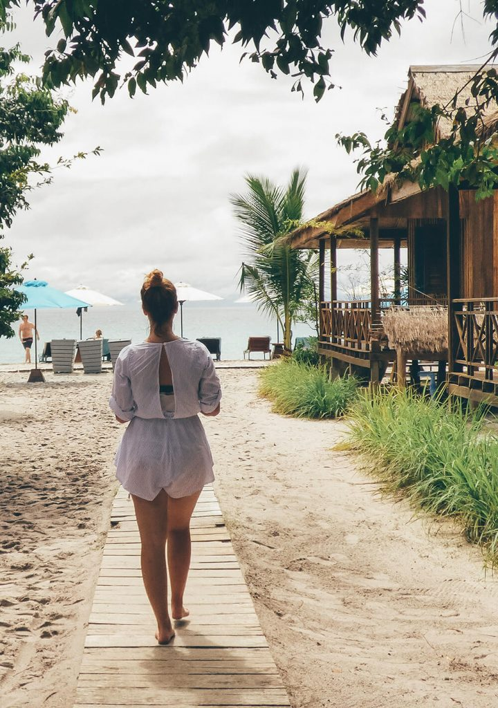 Enjoying the beach life at Sok San Beach Resort on Koh Rong
