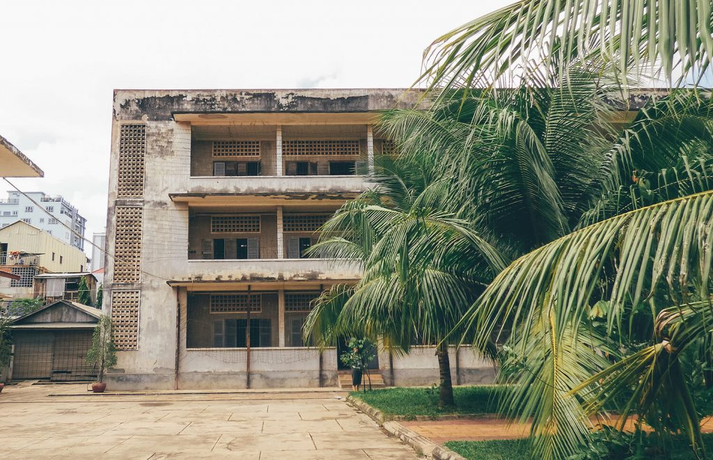 The S21 Genocide Museum in Phnom Penh, Cambodia