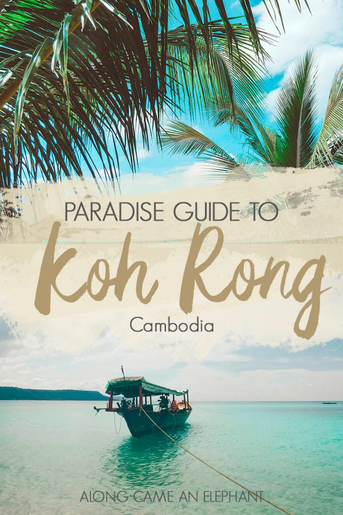 Thinking about adding Koh Rong to your Cambodia itinerary? Here's our mini-guide with all the top things to do, the best place to stay and how to get to Koh Rong. #cambodia #kohrong #islandlife #travel #islandtravel