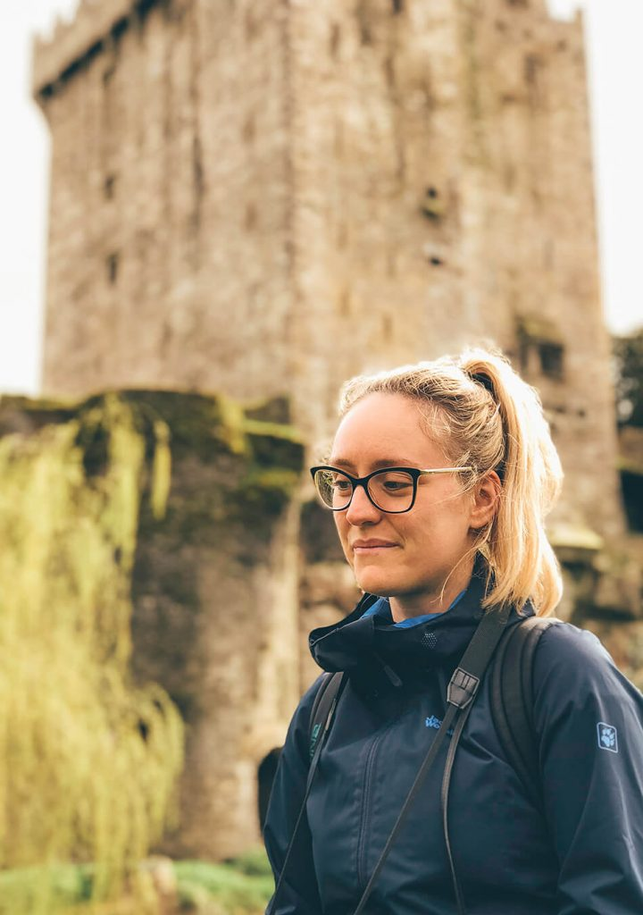 Visiting Blarney Castle on our day in County Cork