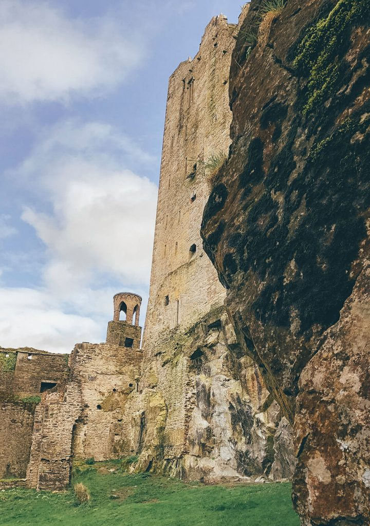 Blarney Castle and the nearby cave