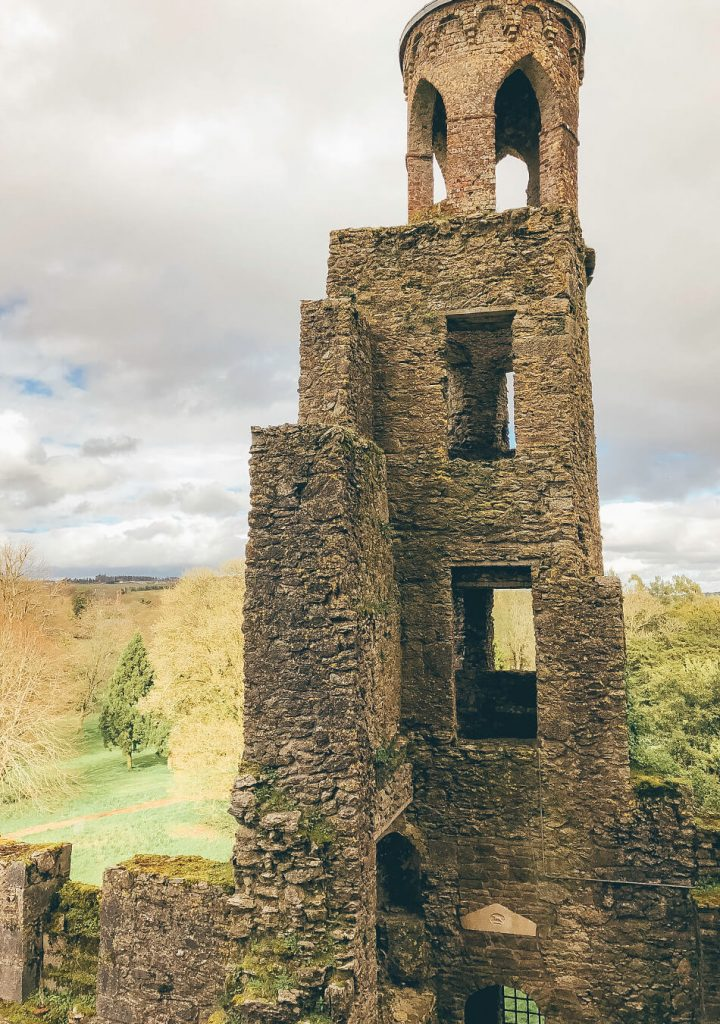 Climbing Blarney Castle
