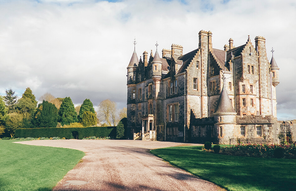 Visiting Blarney Castle and Blarney House in County Cork, Ireland
