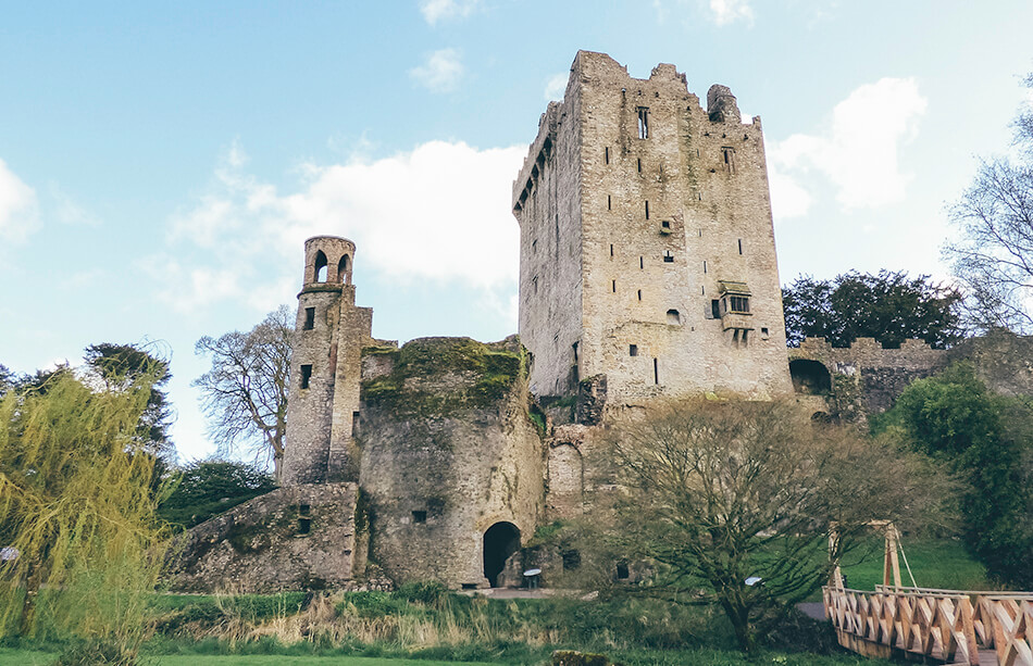Visiting Blarney Castle without any crowds!