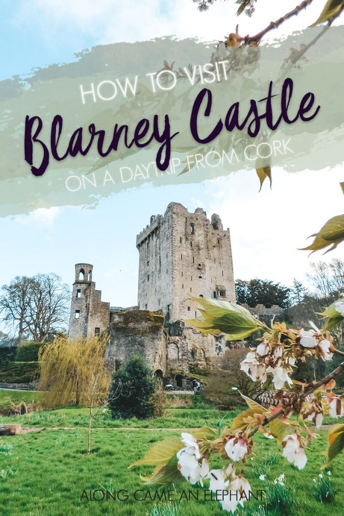 Our experience in visiting Blarney Castle, Blarney House and the surrounding gardens.  Blarney Castle is one of the highlist in County Cork and can easily be visited ina daytrip from Cork! #blarneycastle blarneystone #irishcastle #ireland #cork