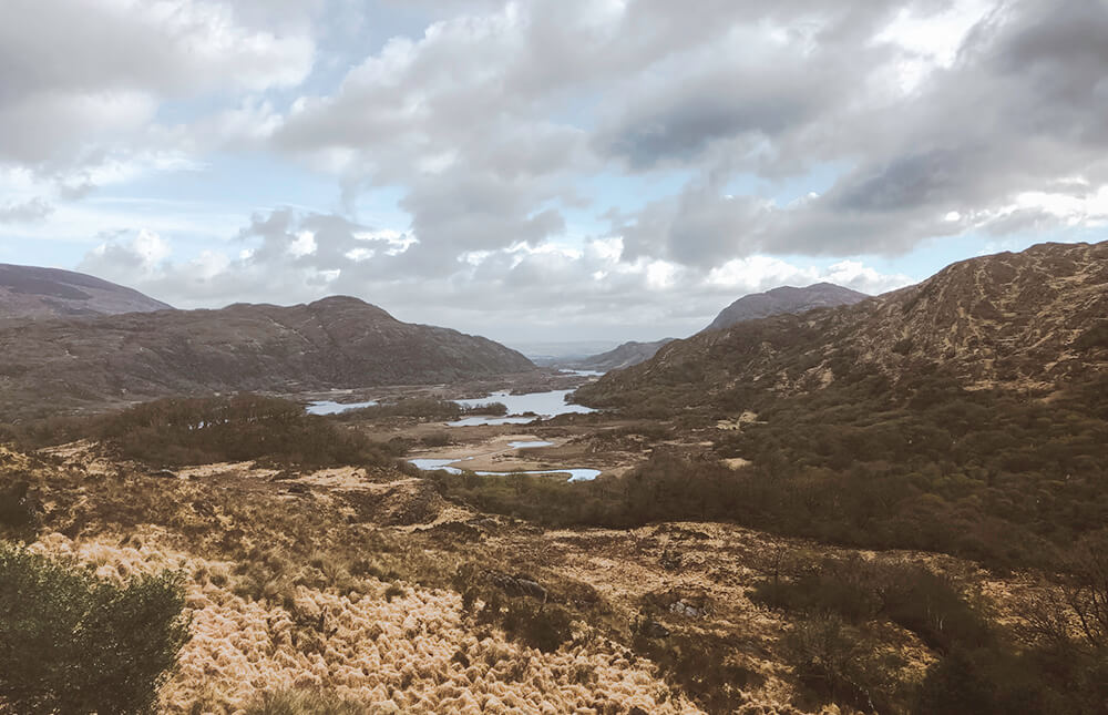 Majestic views over Killarney National Park, Ireland