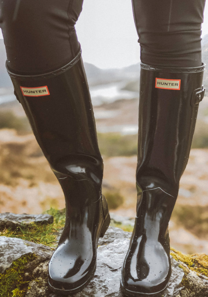 I wore these Hunter boots our entire road trip!