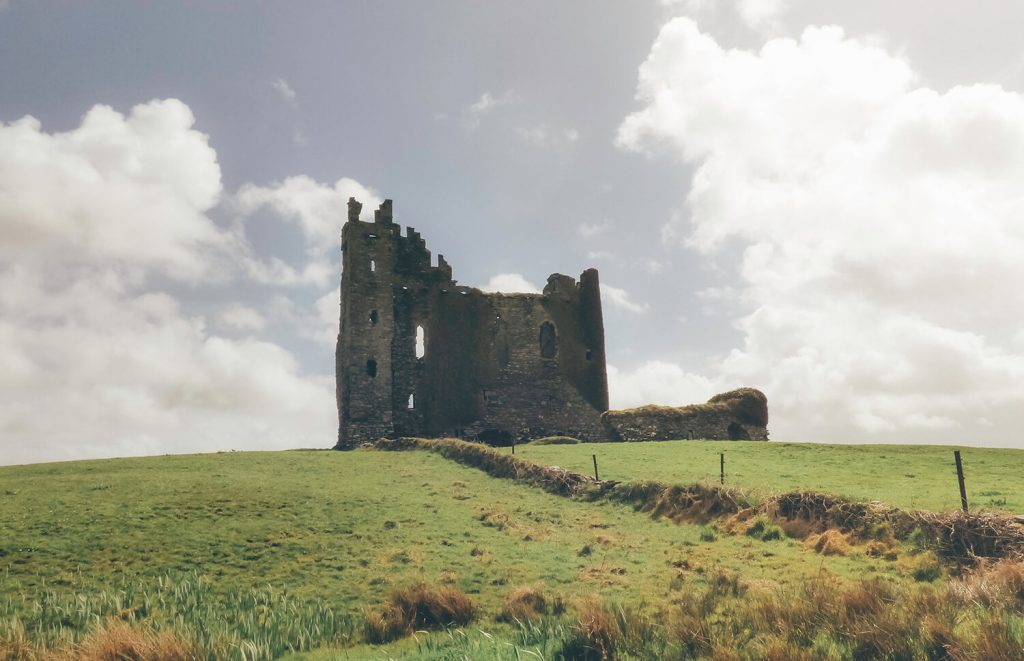 Ballycarbery Castle along the Ring of Kerry