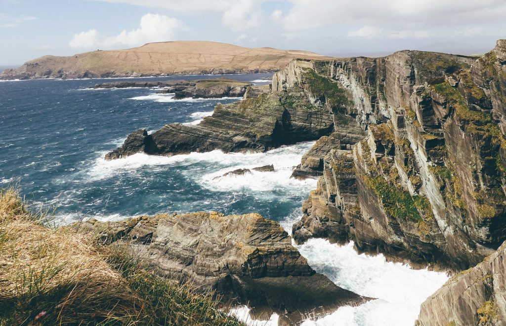 Kerry's most spectacular cliffs on the Ring of Kerry, Ireland