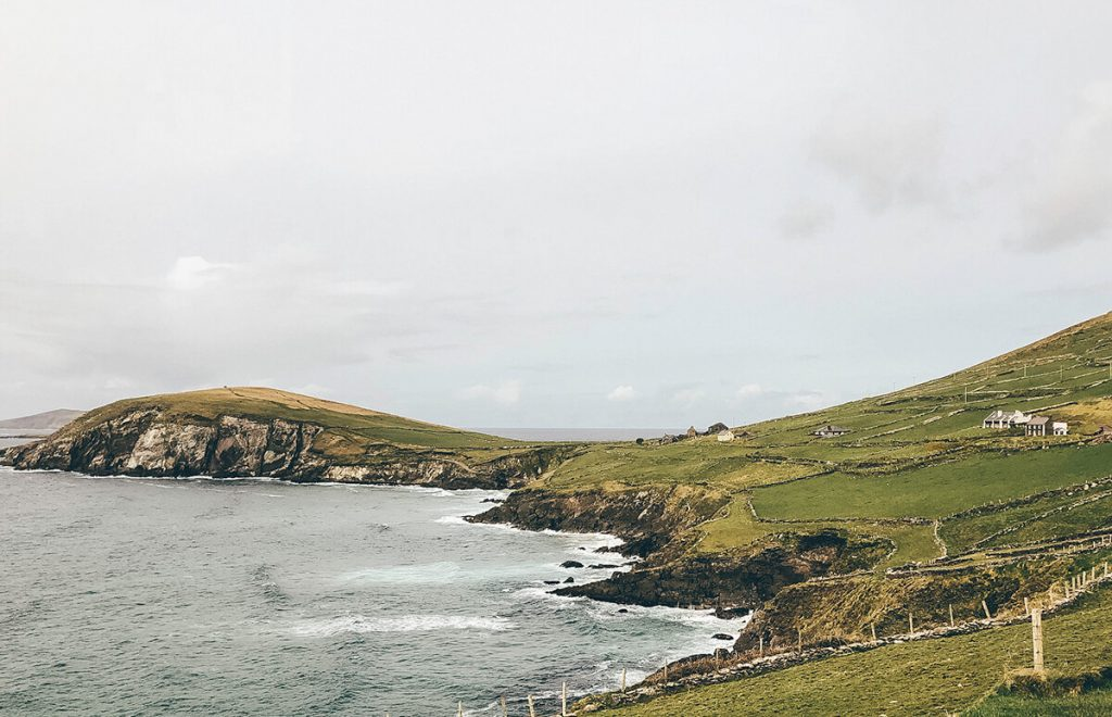 Blasket Islands in the Slea Head Drive