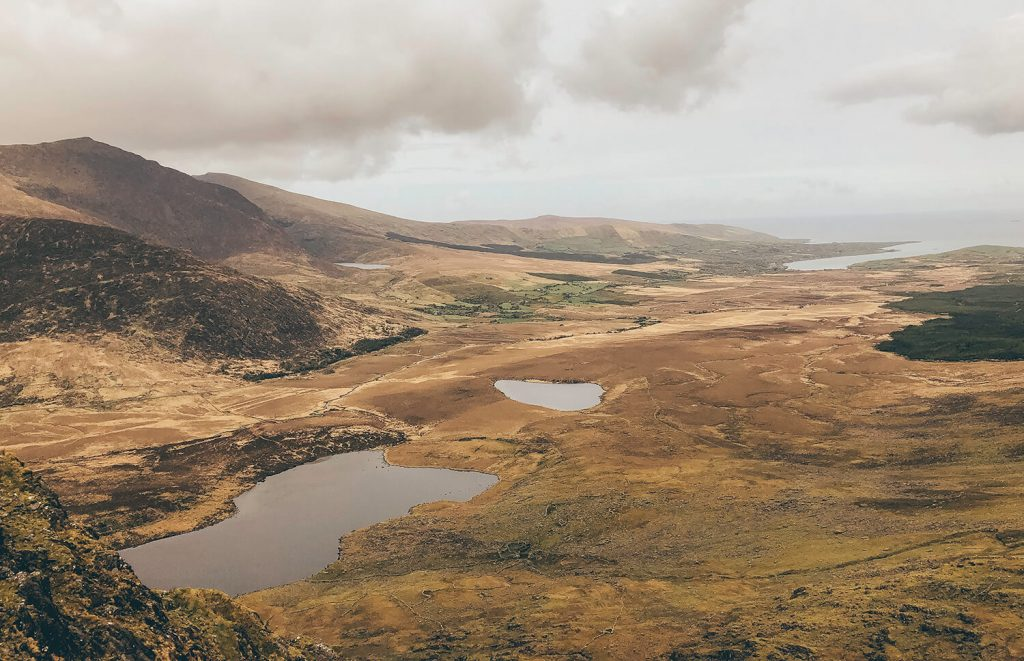 The Conor Pass on the Dingle Peninsula