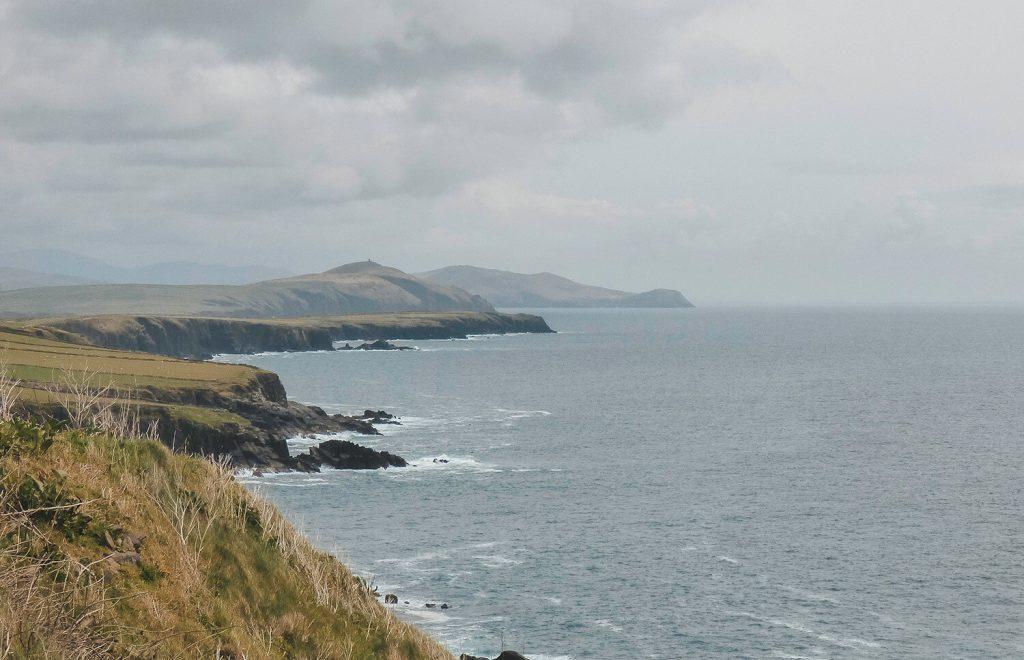 The rugged coast of the Dingle Peninsula