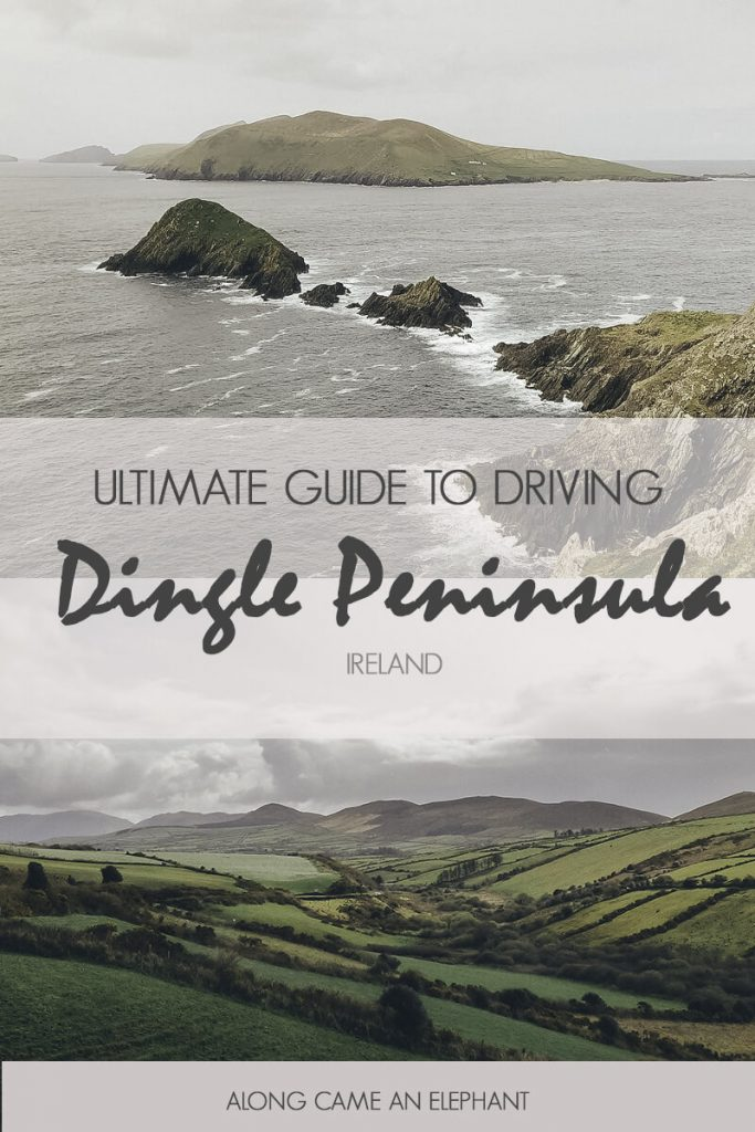 Our favourite stops along the Dingle Peninsula Drive through the rural heart of Ireland. #Ireland #Irishroadtrip #roadtrip #dingle #dinglepeninsula #dinglepeninsuladrive #sleahead #sleaheaddrive