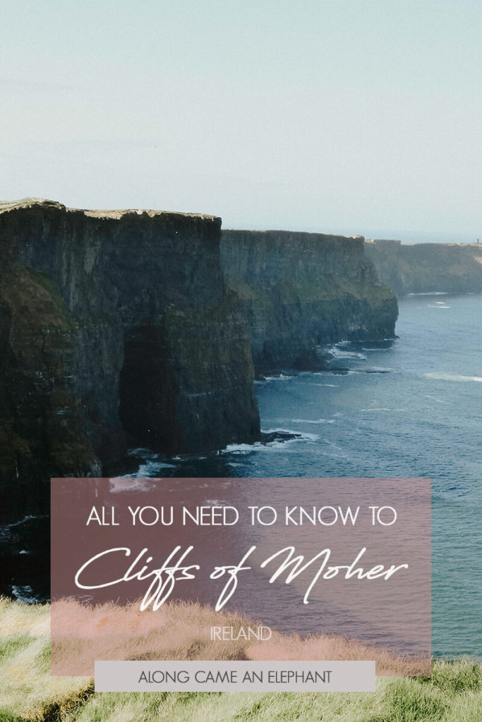 Super practical tips on how to see the Cliffs of Moher in Ireland and explore them on foot.