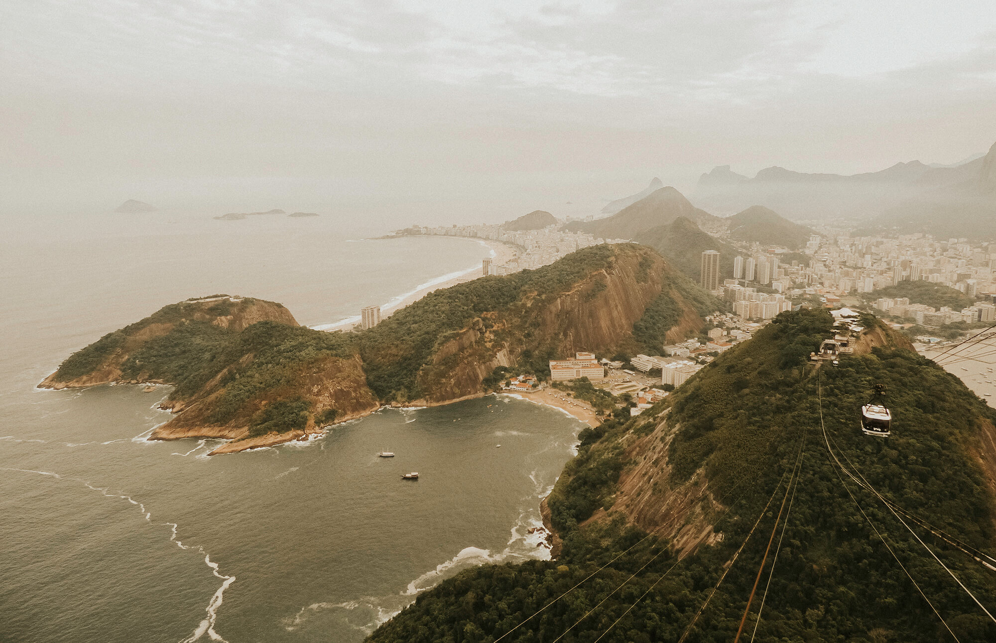 Taking in the views over Rio de Janeiro, an epic start of our 3 week trip through Brazil.