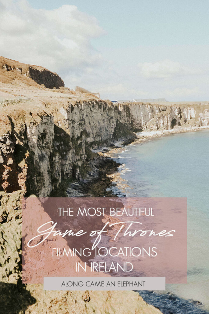 Where to find the most beautiful Game of Thrones filming locations in Northern Ireland! #got #gameofthrones #gotfilminglocations #northernireland