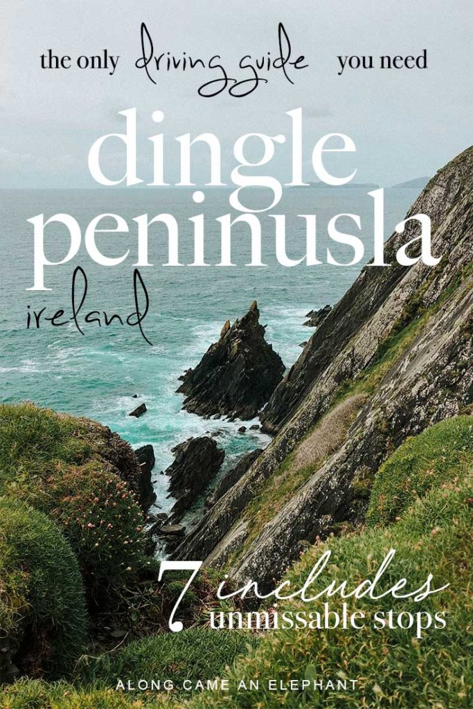 Ireland travel can be quite overwhelming, there are so many great Irish destinations to explore. One certainly no to be missed is the Dingle Peninsula Drive. This Dingle Peninsula Guide includes 7 amazing stops like Dingle, Slea Head Drive, the Conor Pass and much more! #travel #ireland #travelideas